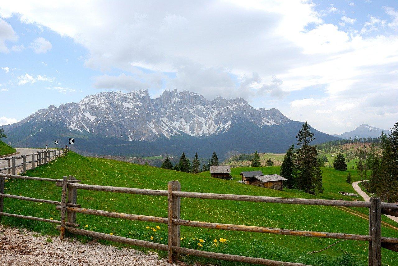 landscape, mountain landscape, vista